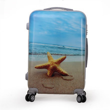 4 wheels ABS PC travel luggage, trolley luggage , suitcase