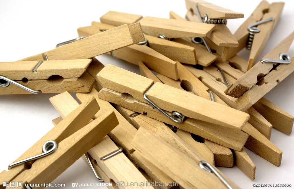 Best grade clothespin birch wood