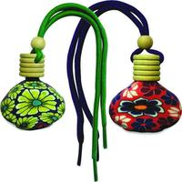 Mahak Eco-friendly car Freshener & Perfume(Mogra & Lemongrass)