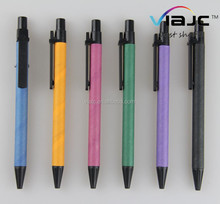 hot products promotional eco ball pens paper and wooden made