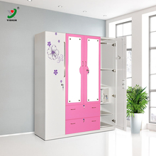 Different Colour Almirah Steel Bedroom Furniture