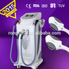 hair removal and skin rejuvenation beauty device with 2 lamps under medical CE