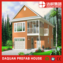 Lovely prefabricated house two storey resdential building