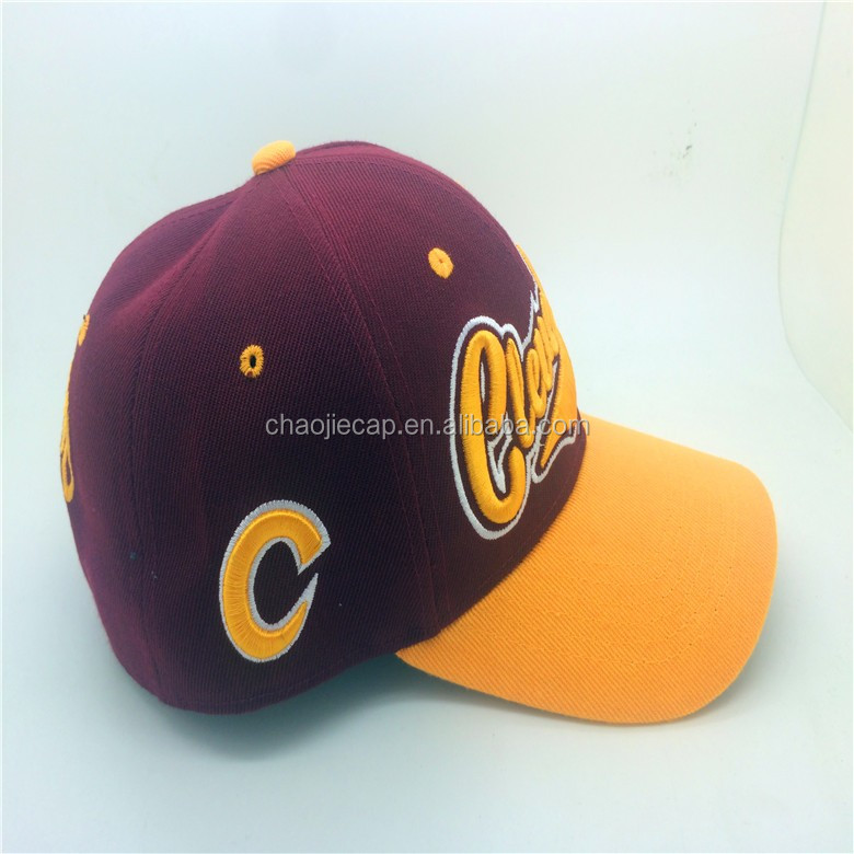 custom sport cap with embroidery