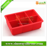 Customized ECO- friendy high quality food grade silicone ice cube tray,silicone ice cube tray