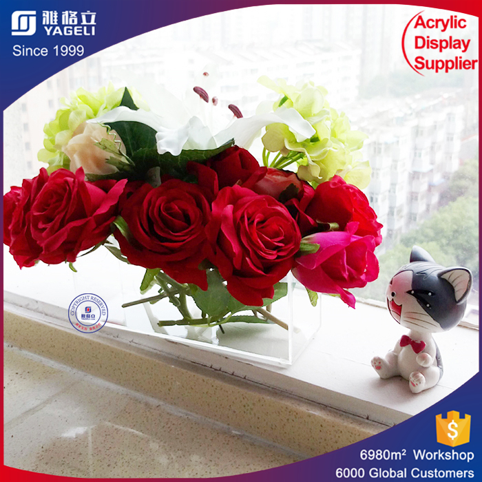Clear acrylic flower box custom acrylic boxes alibaba online shopping