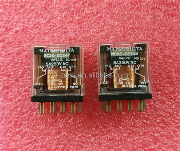 Power Relays, Over 2 Amps NC2D-DC24V RELAY GEN PURPOSE DPDT 5A 24V
