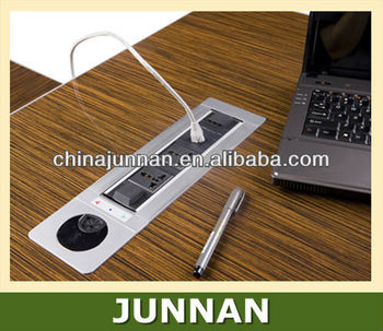 Motorized Flip Up Desk Power Socket