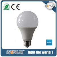 High quality Aluminum+PC cover dimmable 7W bulb lamp indoor ligjt led e27 bulb 220v