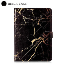 New design marble texture design PU leather flip stand case with card slots for iPad Mini 1/ 2/ 3