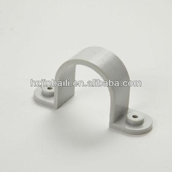 U type pvc plastic pipe clip buy pipe clip pvc pipe for Types of plastic water pipe