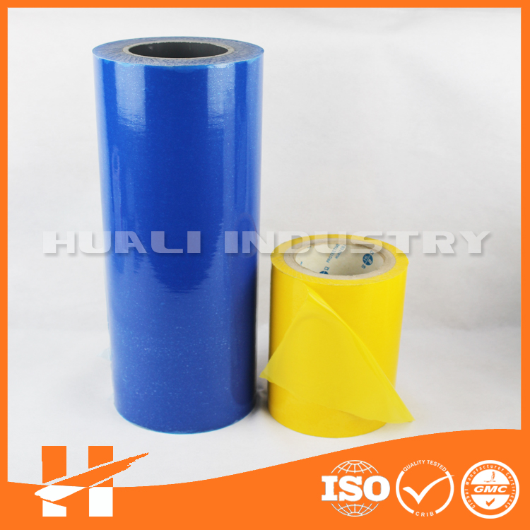 Best price hot blue protective film from Asia