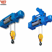 explosion-proof light duty lifting machine three phase electric wire rope hoist 1000 kg