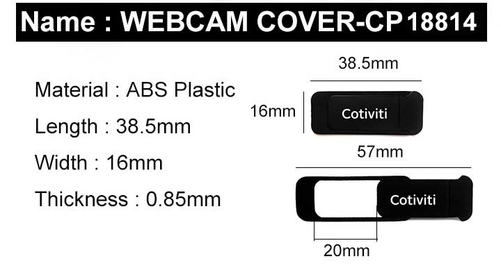 Verwijderbare Security Sliding Camera Webcam Cover Voor Laptop Desktop Mobiele Telefoon mobiele telefoon