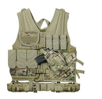 Loveslf safety protection army tactical vest plate carrier army molle mag ammo chest paintball body armor harness