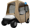 Outdoor dust protection golf car enclosure