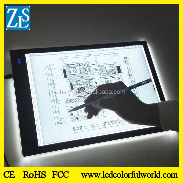 Promotional Price led tracing copy board with USB port for drawing