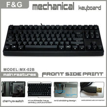 87KEYS Compact Cherry MX switch mechanical keyboard