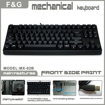 Compact Cherry MX switch mechanical keyboard