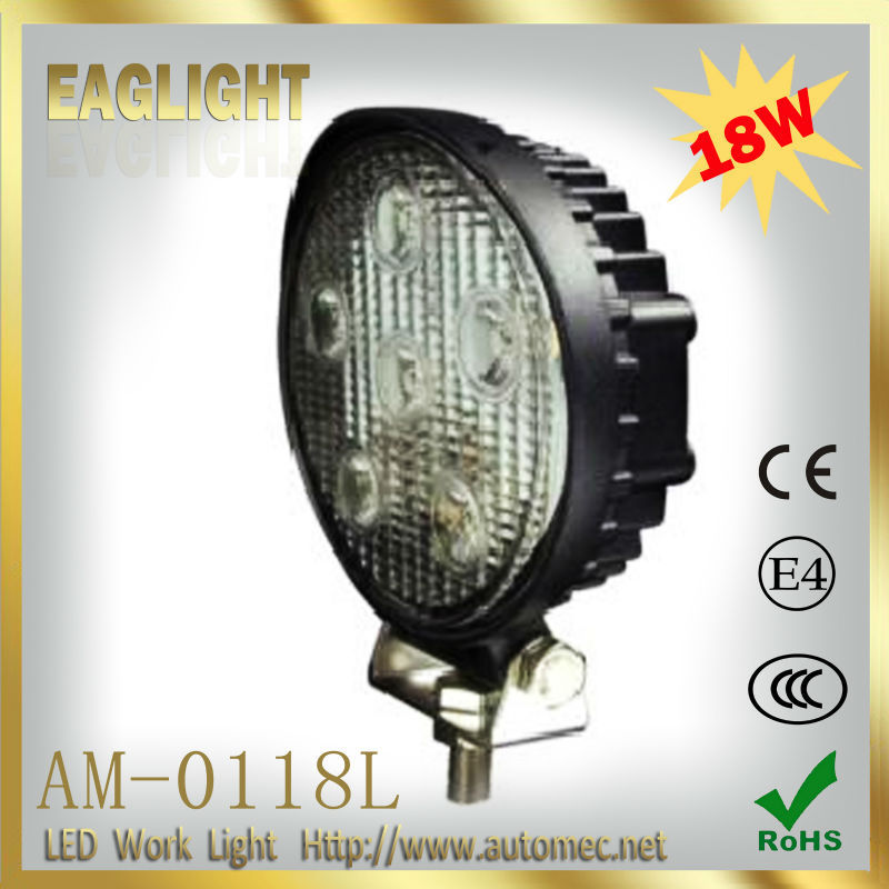 18W 4.3 inch EMC function Offroad LED working head light