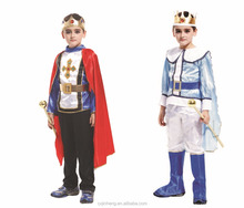 High Quality Set King Costume Prince Costume For Boys Child