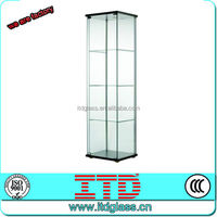 ITD-SF-GPM9253 2014 high quality custom glass display case