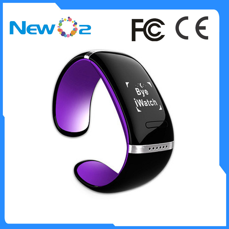 Fashion latest design heart rate smart bracelet with waterproof IP67 bluetooth watch