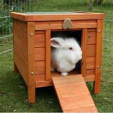 Small Animal House In Pet Rabbit Ferrets Hamster SuppliesDFR043