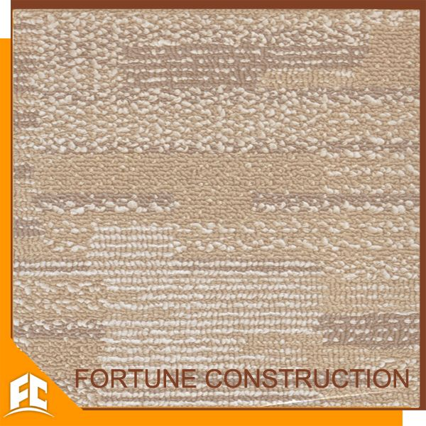 pvc design floor soundproof carpet tiles