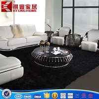 home electronics brand two-tone stainless steel coffee table for living room