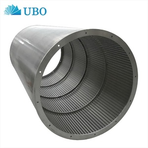 316L Deep Well Water Pipes/Wedge Wire Sand Filters Screen