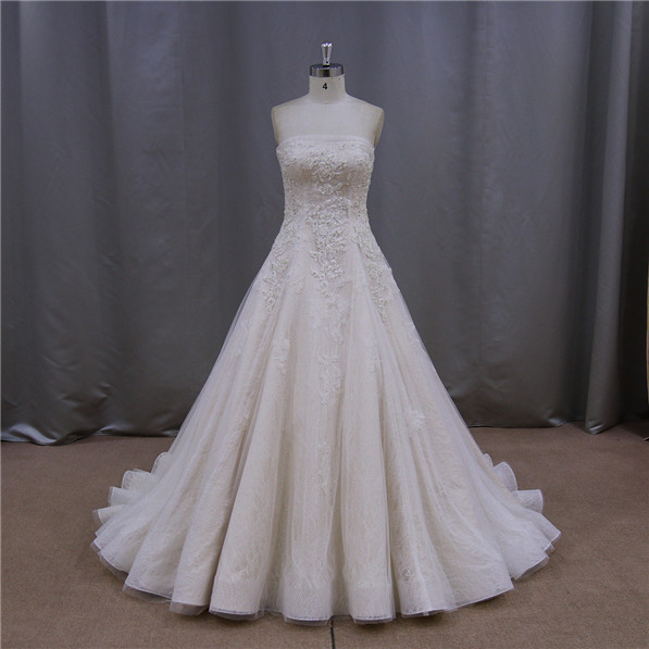 New wedding kebaya fashion wedding dress lace a line