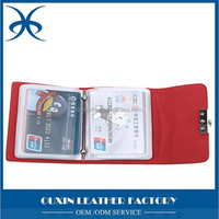 colorful business cardholder just for you with red color give you power could put lots of namecards or credit cards