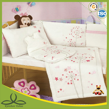 applique baby bedding crib sets