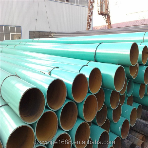 Fusion boned epoxy steel pipe(FBE coated )