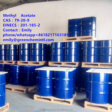organic chemicals solvent methyl acetate for painting company