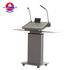 Modern Touch Screen Aluminum Conference Lectern New Design Podium