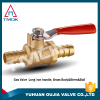 lpg gas cylinder valve 600 wog high pressre with quality nipple cw617n brass gas valve