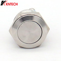 Vandalproof Stainless Steel Button for Weatherproof Auto-dial Telephone