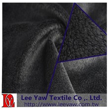 100% Polyester microfiber High Pile fleece fabric with Anti-pilling For sportswear