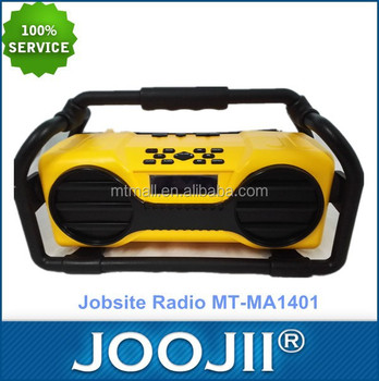 WHOLE SALE!! Portable Fireproof Jobsite DAB+Radio with Bluetooth function