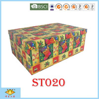 Handmade Christmas Decoration Gift Packaging Box Hard Cover Boxes