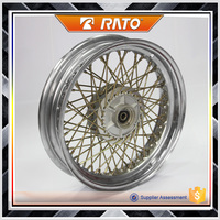 China OEM 10 inch wide steel motorcycle wheel