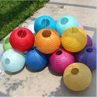 Wholesale hot sale lampion cheap 10 inch chinese round paper lantern