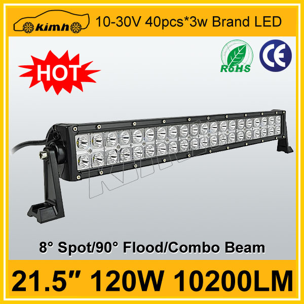 24V,10-30V DC Voltage 21.5'' 120W jeep wrangler off road parts