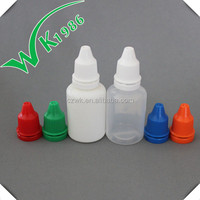 different sizes of Ldpe plastic dropper bottles