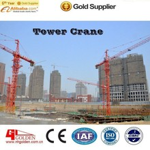 Seating platform anti crash devices used tower Cranes 6010 6 ton for sale