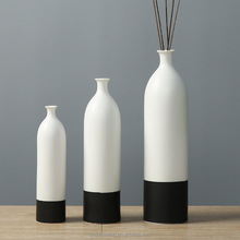 wholesale chinese ceramic colorblock vase,home accent