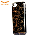 Diamond pattern for iphone 8 tpu case