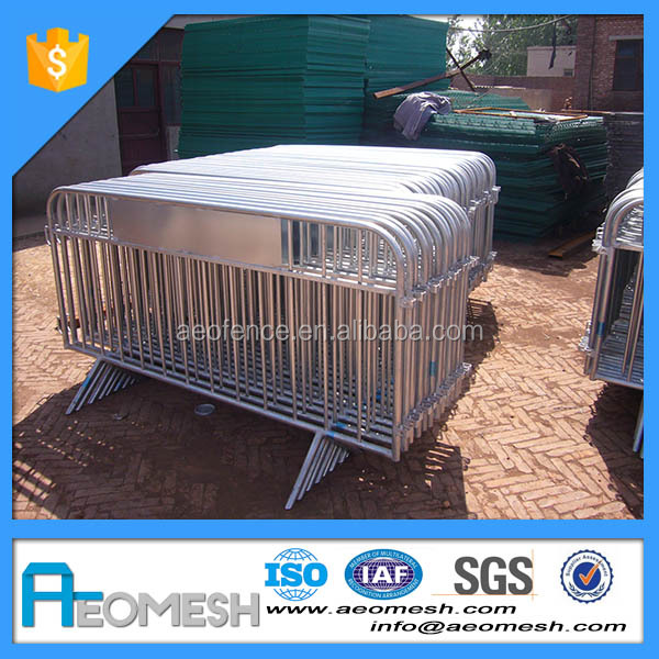 High Security Hot Dipped Galvanized Traffic Safety, Road Crowd Control Barrier